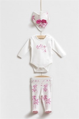 Sea Kız bebek 3lü Body Set